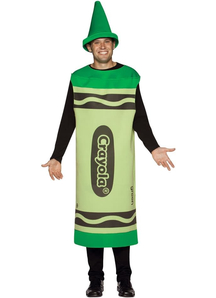 Green Crayola Pencil Adult Costume