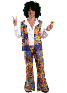 Happy Hippie Adult Costume