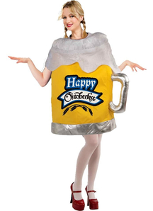 Happy Oktoberfest Beer Mug Adult Costume