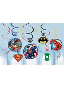 Justice League Foil Decor