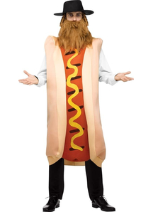 Kisher Hot Dog Adult Costume