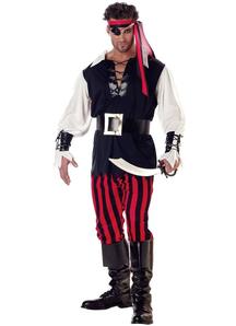 Monocular Pirate Adult Costume