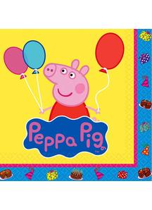 Peppa Pig Bev Napkins 16 Pack