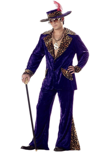 Pimp Man Adult Costume