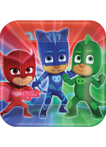 Pj Masks Square Plate 9In