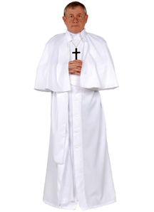 Pope Adult Costume White