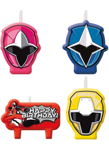 Power Rangers Ninja Steel Candle Set