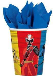Power Rangers Ninja Steel Cups 9Oz