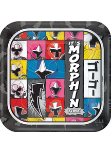 Power Rangers Ninja Steel Sq Plates 9