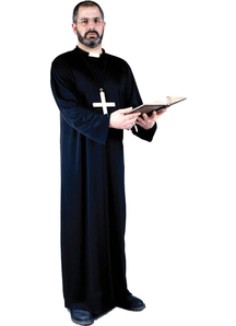 Priest Adult Costume Plus