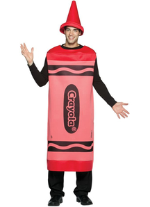 Red Pencil Crayola Adult Costume