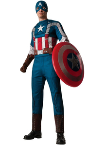 Retro Captain America Adult Costume