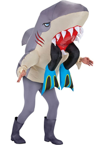 Shark And Legs Adult Costume
