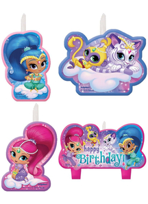 Shimmer Shine Birthday Candle