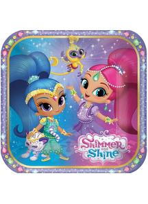 Shimmer Shine Sq Plates 7I