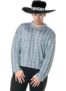 Silver Pimp Shirt Adult