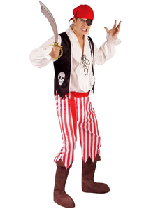 Skull Pirate Adult Costume