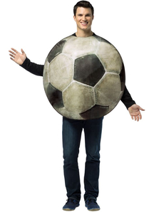 Soccer Ball Adult Costume