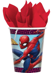 Spider-Man Cup 9Oz 8 Pack