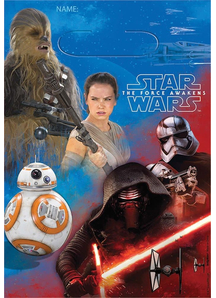 Star Wars E7 Loot Bags 8 Pack