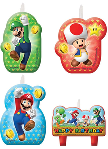 Super Mario Candle Set