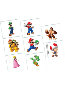 Super Mario Tattoos