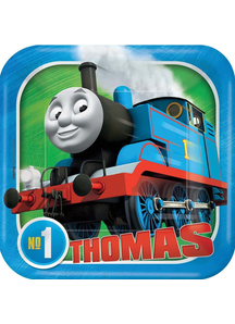 Thomas Tank Sq Plates 7In