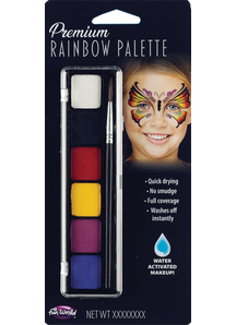 6 color Butterfly Make up Palette