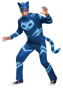 Mens Catboy Costume - PJ Masks