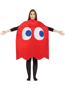 Adult Blinky Costume - Pac Man