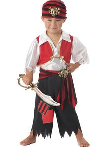 Boys Little Pirate Costume