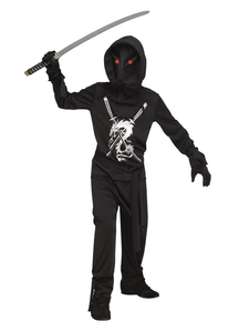 Fade in/out Boys Ninja Costume