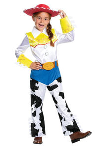 Girls Jessie Costume - Toy Story