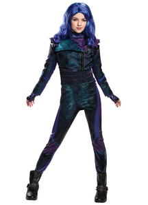 Girls Mal Costume Deluxe - Descendants 3