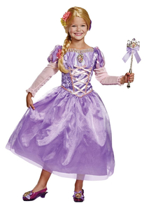 Girls Rapunzel Deluxe Costume