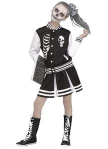 Girls Scareleader Costume