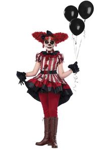 Girls Wicked Clown Costume