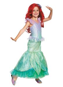 Girsl Ariel Prestige Costume - Disney