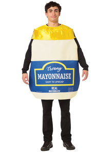 Mayonnaise Adult Costume