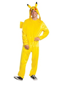 Mens Pikachu Deluxe Costume - Pokemon