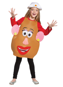 Mrs/Mr Potato Toddlers Costume - Toy Story 4