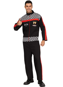 Race Car Driver Adult Plus Costume