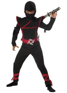 Stealth Ninja Boys Costume