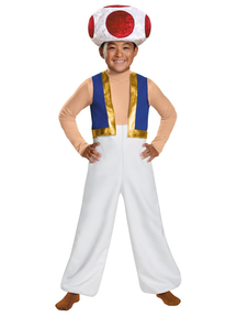 Toad Deluxe Child Costume