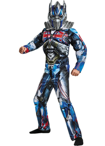 Kids Optimus Prime Muscle Costume - Transformers