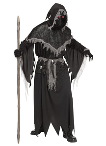 Warloke Fade In/Out Adult Costume