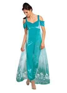 Women Jasmine Deluxe Costume - Aladdin