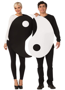 Yin Yang Adult Couple Costumes