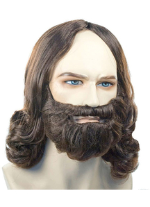 Biblical B367 Dark Brown Wig Only