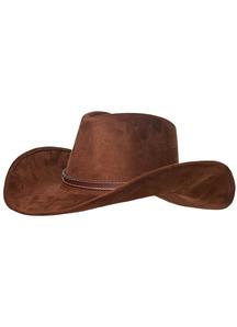 Adult Cowboy Hat Brown